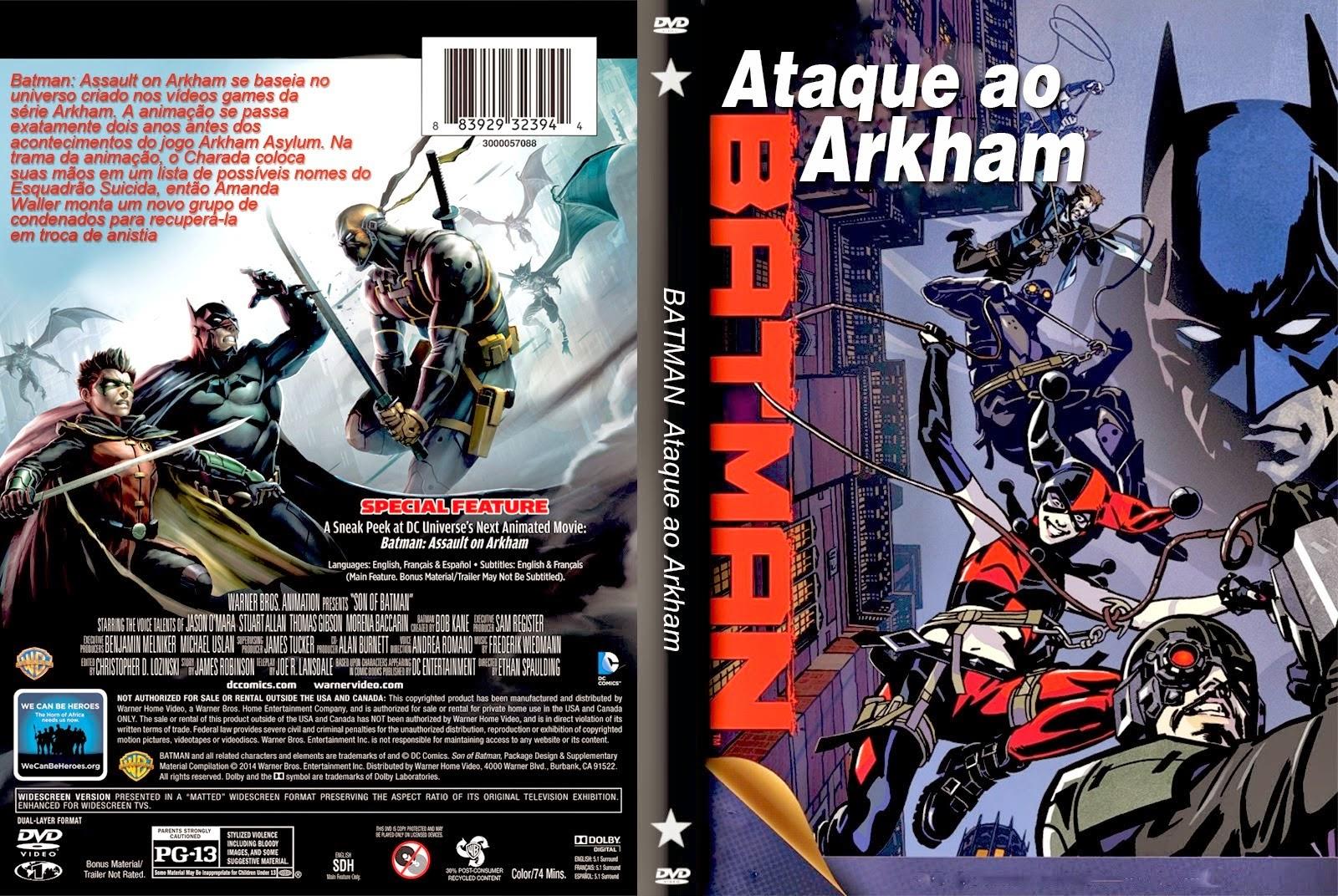 Batman Ataque ao Arkham