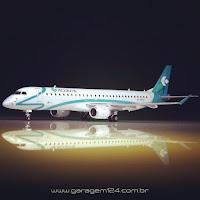 Avião Embraer 195 Airdolomiti - Revell 1/144 scale Plastic Model Kit