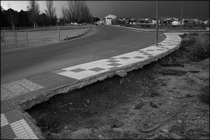 fotografía, acera, Fuente_Alamo, Murcia, urbanismo, SEMS, Límites, Arriba_Extraña