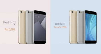 Buy Redmi Y1 & Y1 Lite  from Amazon in Flash Sale