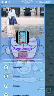 BBM MOD Doraemon V3.0.1.25 APK [Base Mod Transparant]2