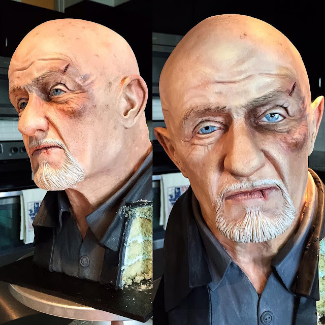 Mike Ehrmantraut von 'Breaking Bad' und 'Better Call Saul' als Kuchen - Kein Problem.