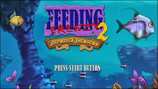 تحميل لعبة السمكة للكمبيوتر والاندرويد برابط مباشر download feeding frenzy game