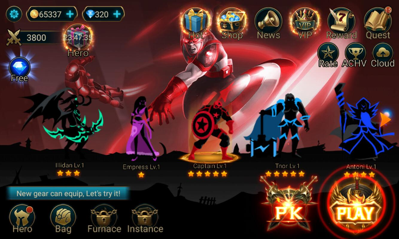 Darkness for league of legends mod apk