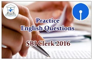 SBI Clerk Prelims 2016- Practice English Questions (Sentence Rearrangement)