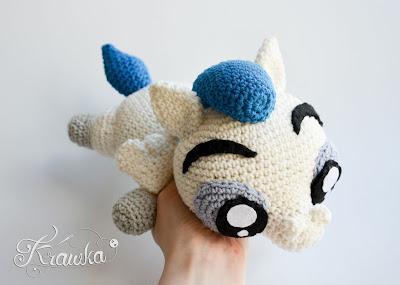 Krawka: crochet cute and cuddly pegasus pattern by Krawka https://www.etsy.com/listing/549478067/crochet-pattern-no-1720-pegasus-pattern?ref=shop_home_active_1