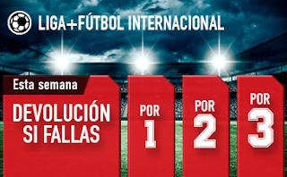 sportium promocion devolucion combis futbol 16-22 abril