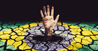 Resultado de imagem para brasil no poço