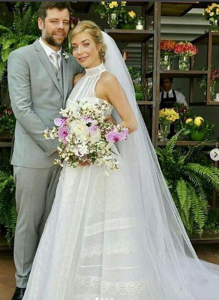 Luiza Possi e marido