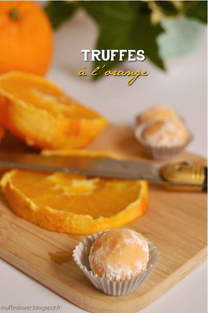 Recette Truffes à l'orange - muffinzlover.blogspot.fr
