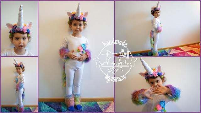 Tęczowy jednorożec / Unicorn costume