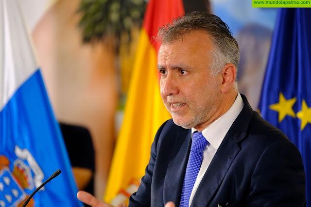 Ángel Víctor Torres reclama al Gobierno de España que haya medidas económicas específicas para Canarias