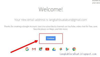 cara daftar buat akun google