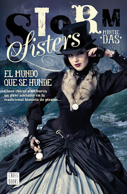 STORM SISTERS #1. El mundo que se hunde : Mintie Das (CrossBooks - 20 junio 2017) | Literatura Juvenil | PORTADA ALIBRO