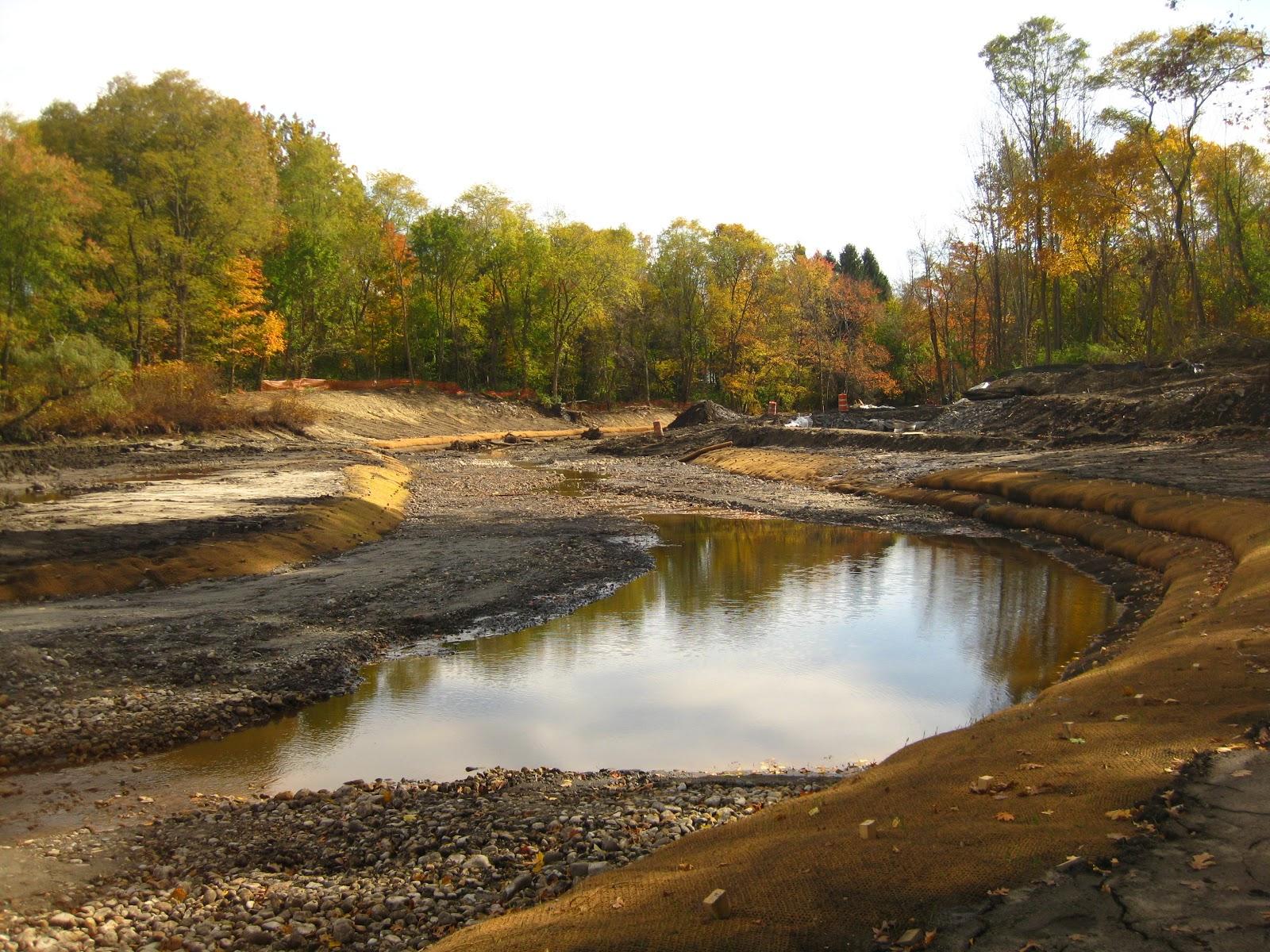 Mill River Restoration: Mill River channel restoration ...