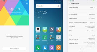 Update sistem redmi note 2