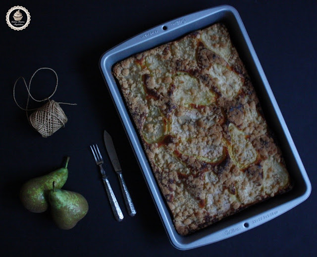 buckle-de-requeson-y-pera, ricotta-and-pear-buckle