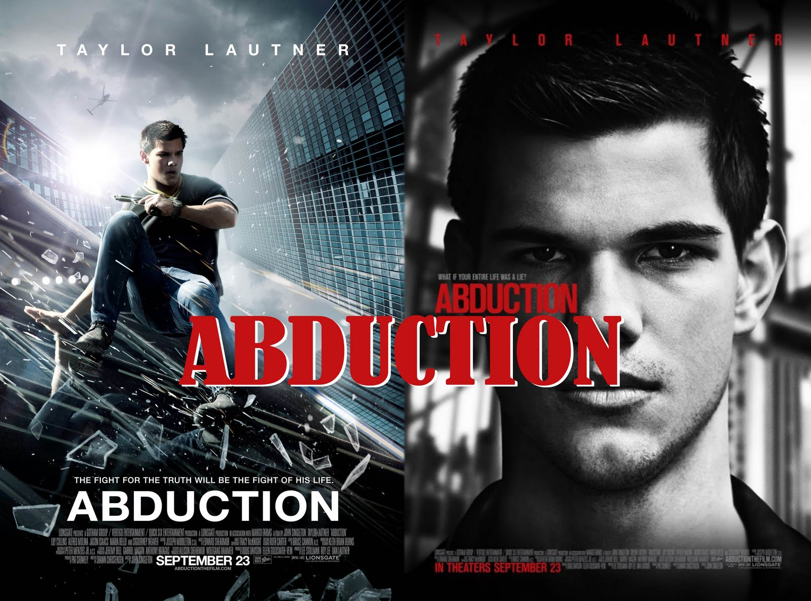 Movie Posters 2011: Movies: Abduction (2011