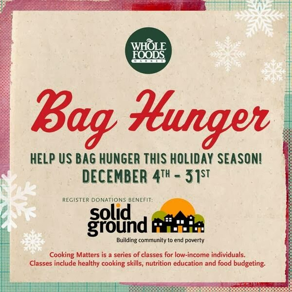"Whole Foods Collecting Food Donations in ""Bag Hunger"" Food Drive"