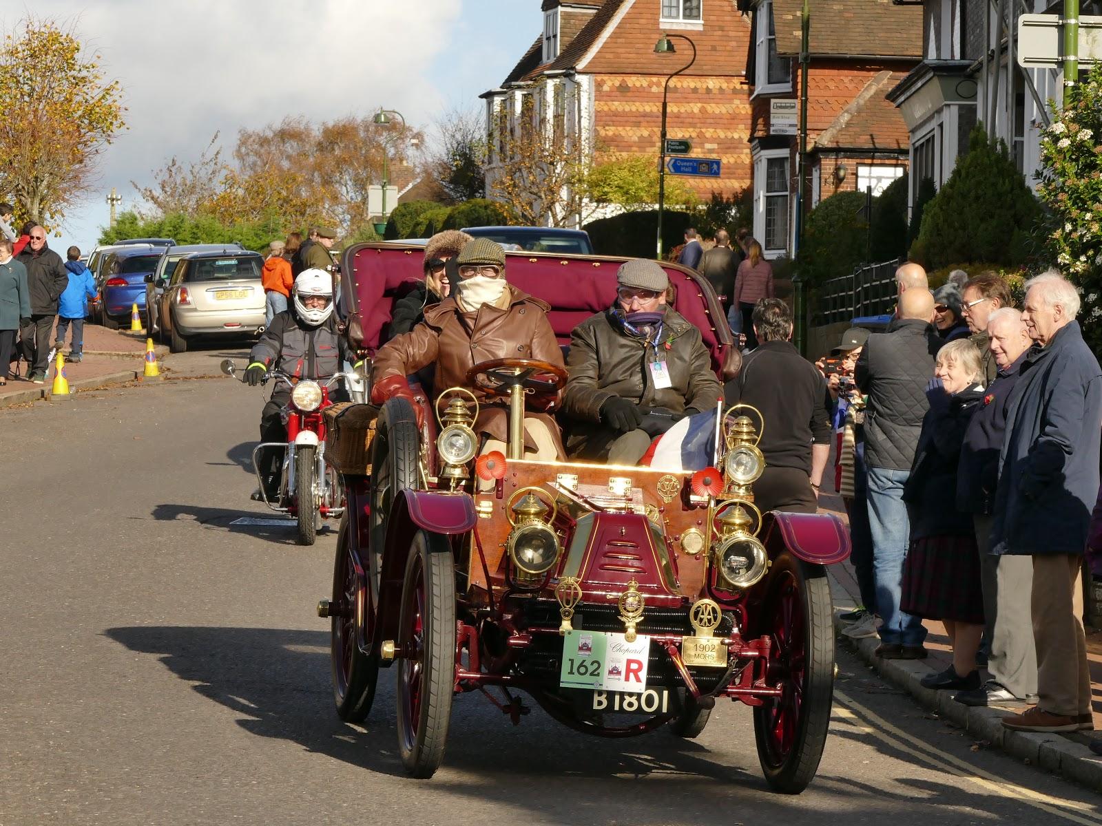 Peter Lovett\'s ramblings : 2017 Veteran Car Rally in Cuckfield, West ...