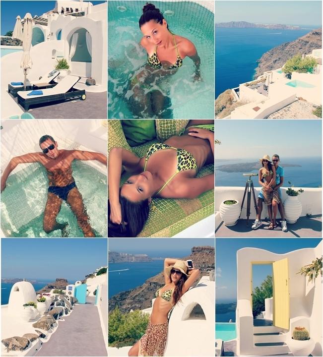Dreams luxury suites vacation in Santorini island