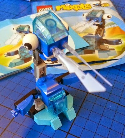 LEGO Mixel Lunk Frosticon review 41510