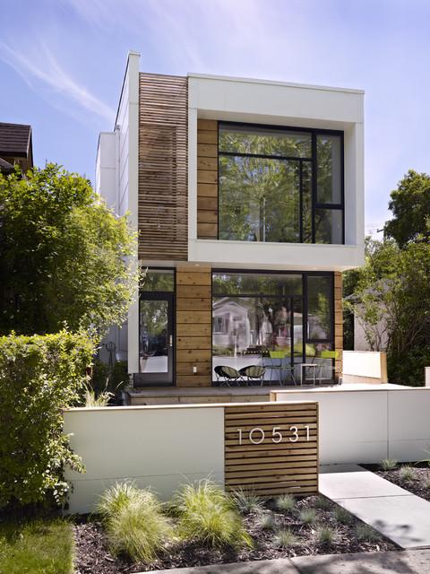 rumah kayu kontemporer