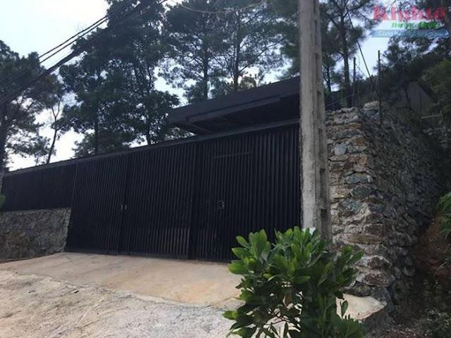 Biệt thụ xây trên rừng phòng hộ của Mỹ Linh