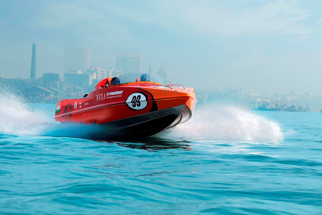 6 Teams and the World's best Pilots for Inaugural NEXA P1 Powerboat, Indian Grand Prix of the Seas Unveiled
