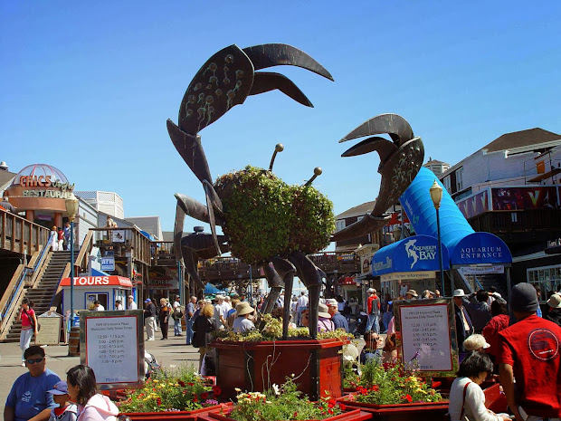Fisherman Wharf San Francisco - Tourist Destinations