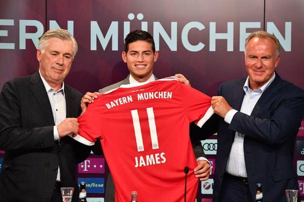 James Rodriguez Resmi Bergabung Dengan Bayern Munich