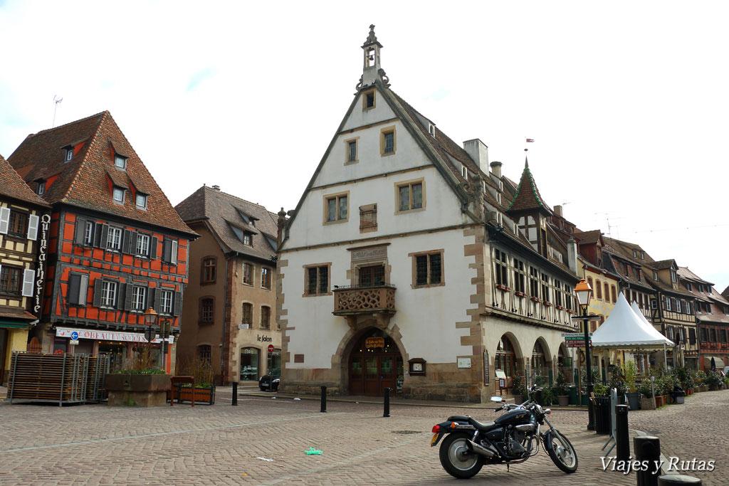 Mercado de trigo de Obernai