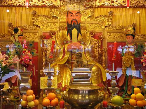 Estátua de Huangdi - também conhecido como Imperador Amarelo