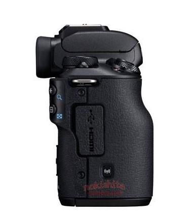 Canon EOS M50, вид справа