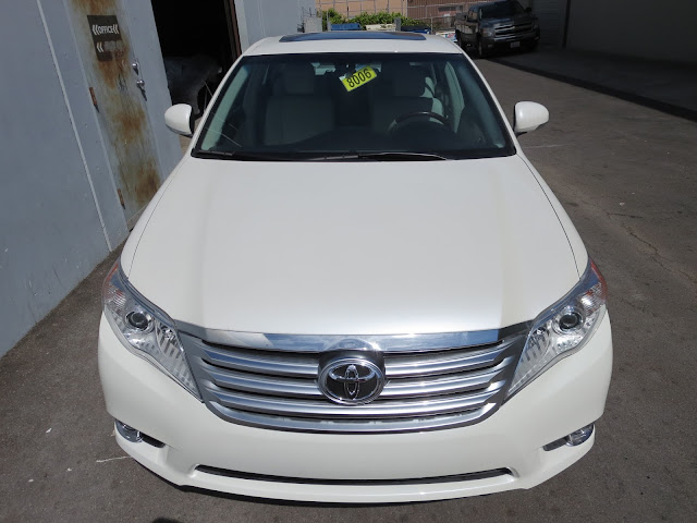 2012 Toyota Avalon after auto body repairs at Almost Everything Auto Body