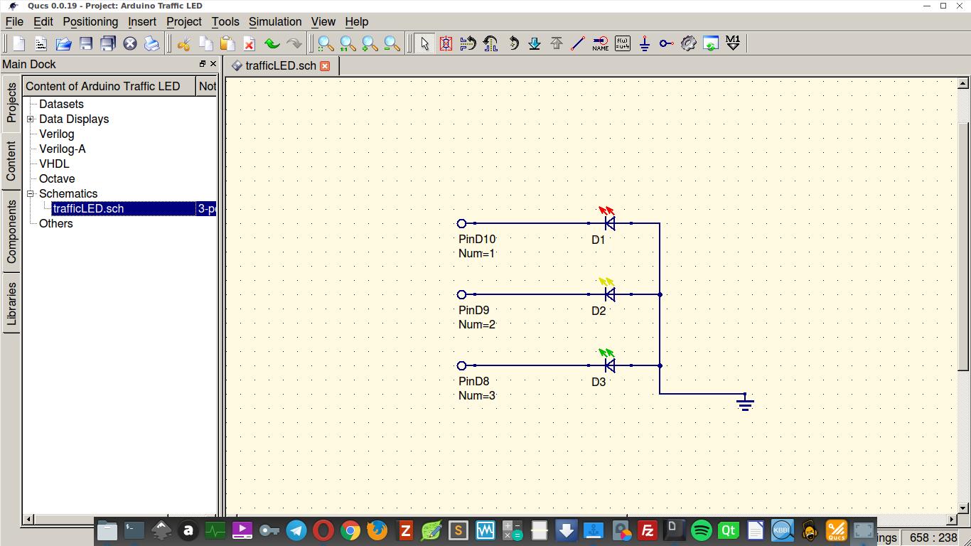 Waktu cukup senggang project sederhana arduino selesai