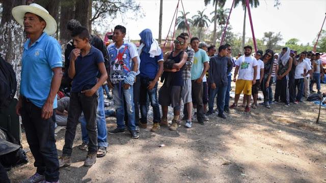 Trump cortaría ayuda a Honduras por 'caravana' de inmigrantes