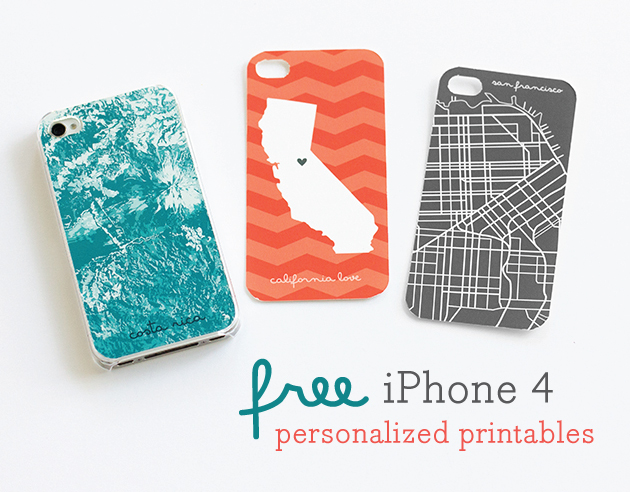 Personalized iPhone 4 template Giveaway! | Latest Trends ...Iphone 4 Template