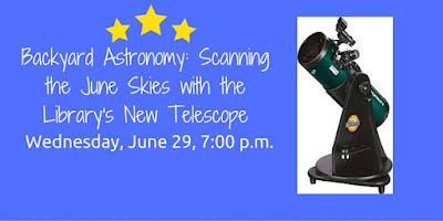 backyard astrology scanning with training from the Library