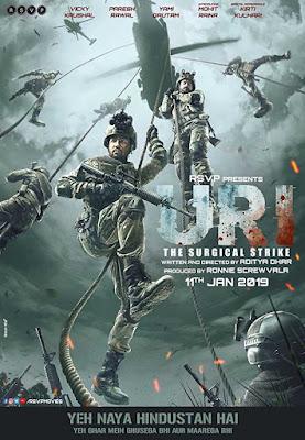 Poster Uri: The Surgical Strike 2019 Hindi HD 720p