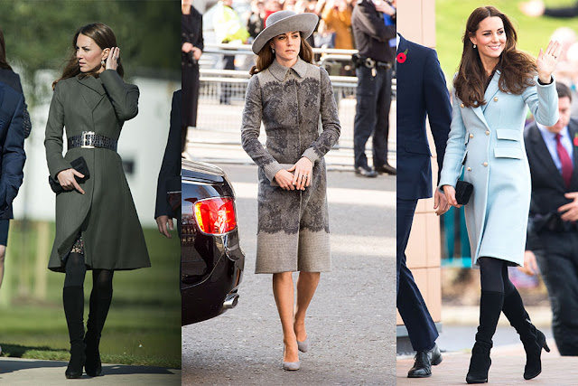 Inilah Fashion Casual Ala Kate Middleton