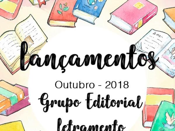 [Lançamentos] Grupo editorial Letramento - Outubro de 2018