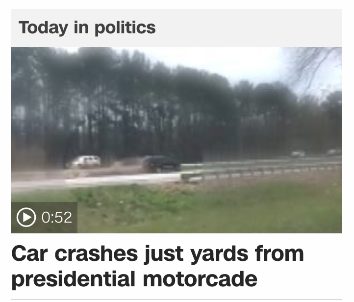 free to find truth: 33 39 45 | Video shows car crash near
