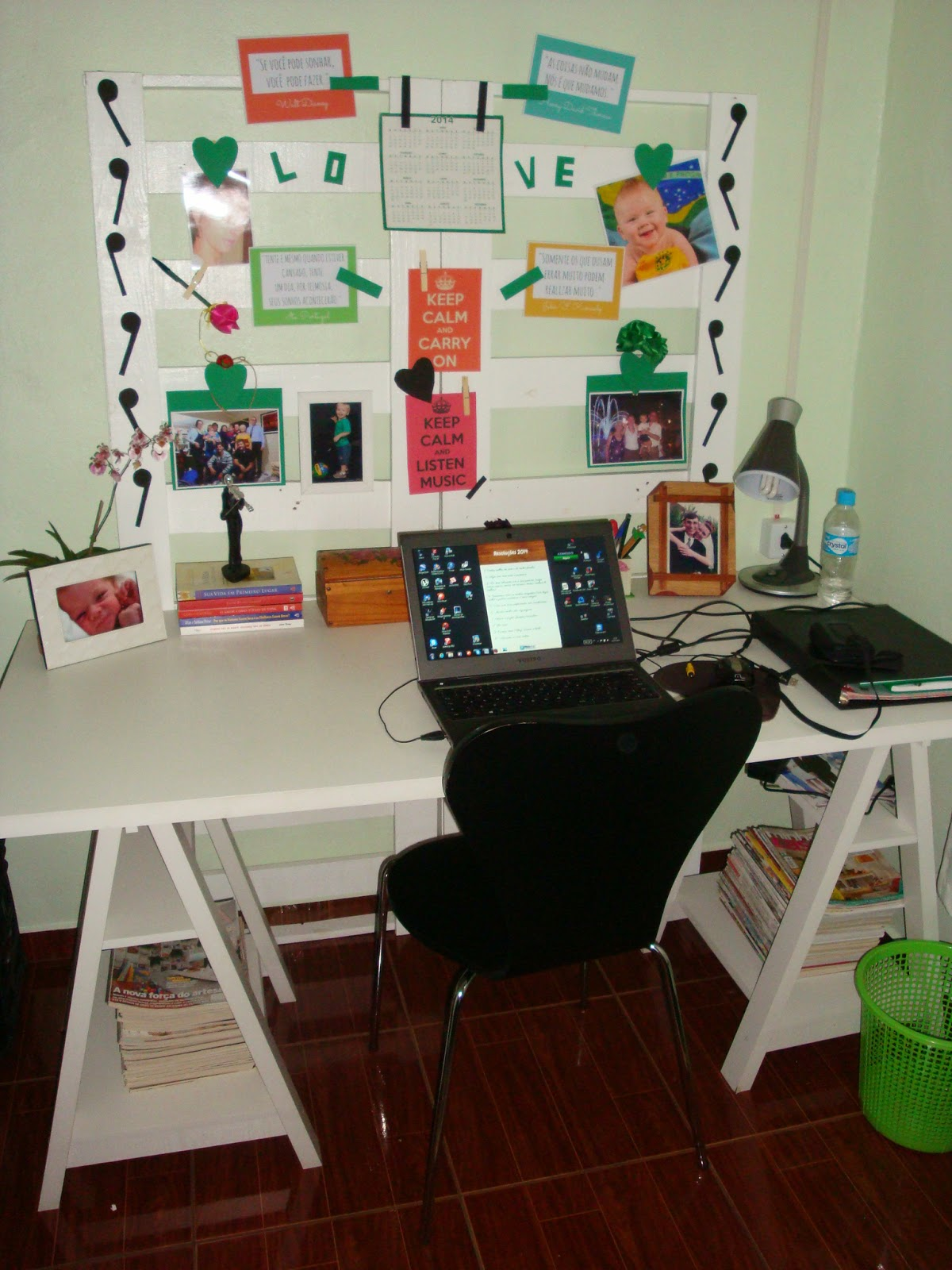 Meu home office antes