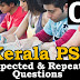 Kerala PSC Expected and Repeated Questions - 04