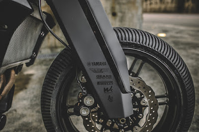Yamaha MT-07 front end by Rough Crafts