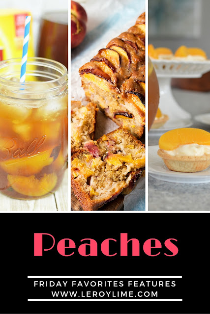Peaches - Friday Favorites Features - leroylime