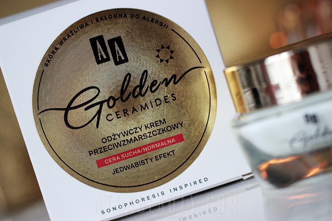 AA Golden Ceramides Odżywczy krem przeciwzmarszczkowy