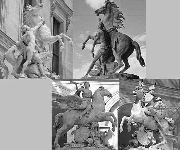 les chevaux de Marly