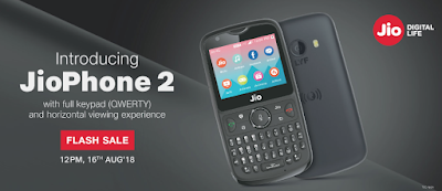 Jio phone 2 Jio Independence Day Offer 2018